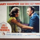 DH27 10 North Frederick GARY COOPER Portrait Lobby Card