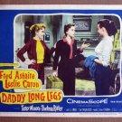 CT08 Daddy Long Legs ASTAIRE/LESLIE CARON Lobby Card
