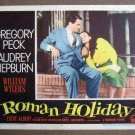 CT37 Roman Holiday AUDREY HEPBURN/PECK great '53 LC