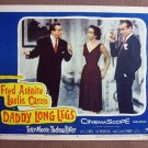 CU09 Daddy Long Legs FRED ASTAIRE/L CARON Lobby Card