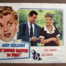 CU25 It Should Happen To You JUDY HOLLIDAY Lobby Card