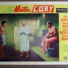CZ26 Mister Cory TONY CURTIS '57 mint lobby card