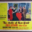 DA08 Belle Of New York FRED ASTAIRE 1952 Lobby Card