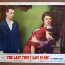 DF30 Last Time I Saw Paris ELIZABETH TAYLOR Lobby Card