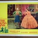 DG17 King & I YUL BRYNNER/DEBORAH KERR Lobby Card