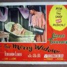 DG20 Merry Widow LANA TURNER in bathtub '52 Lobby Card