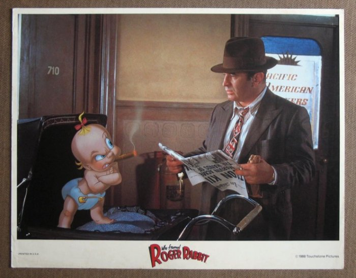 CV51 Who Framed Roger Rabbitt WALT DISNEY Lobby Card