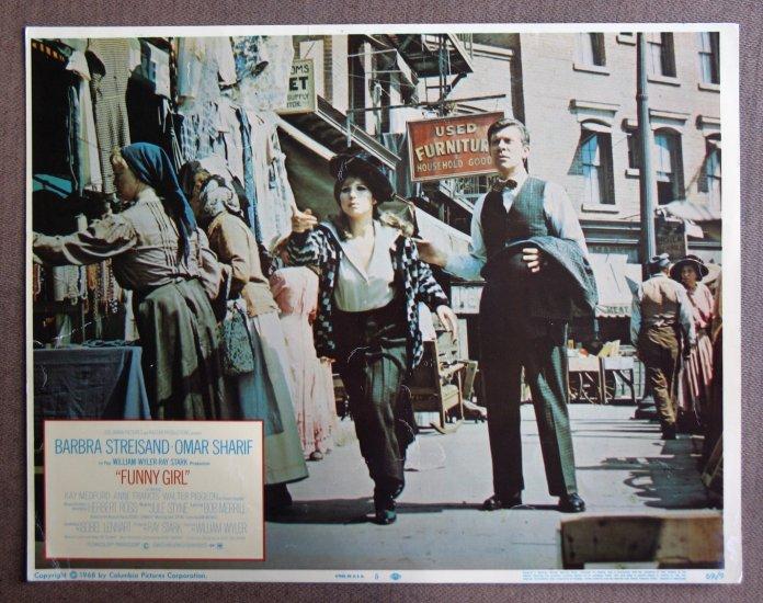 CY18 Funny Girl BARBRA STREISAND Orig 1969 Lobby Card