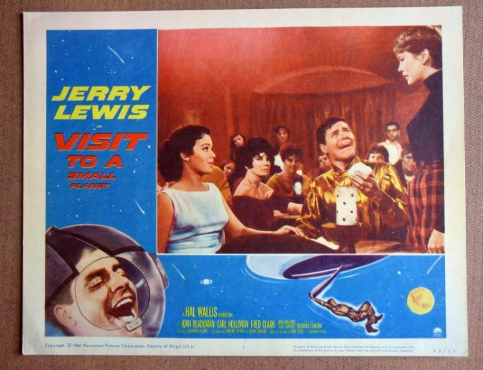 DD45 Visit To A Small Planet JERRY LEWIS '60 mint LC