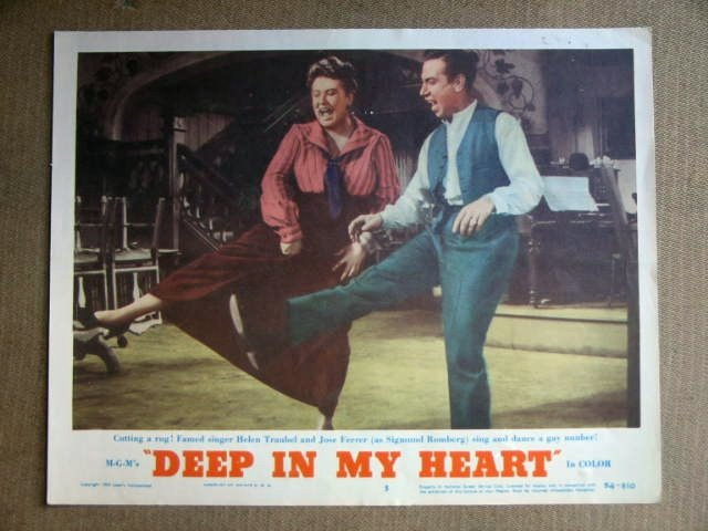 EC11 Deep In My Heart JOSE FERRER/H TRAUBEL Lobby Card