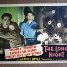 EC23 Long Night HENRY FONDA/BEL GEDDES 1947 Lobby Card