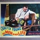EC25 Men In Her Life LORETTA YOUNG/C VEIDT Lobby Card