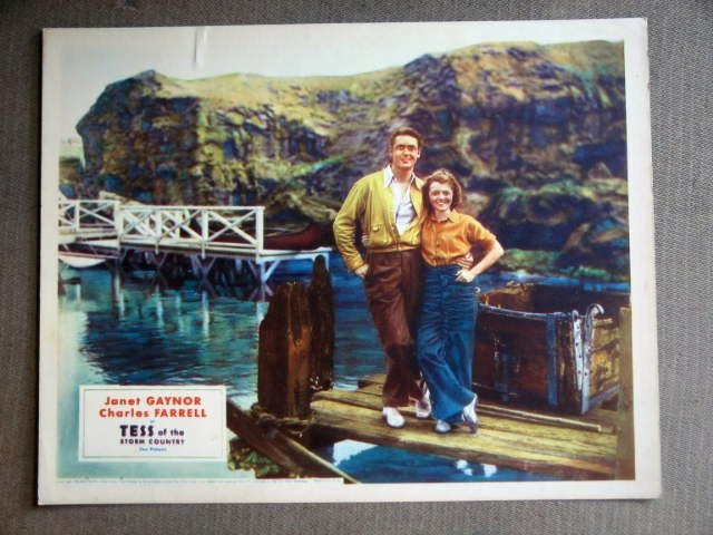 EC37 Tess Of Storm Country JANET GAYNOR '32 Lobby Card