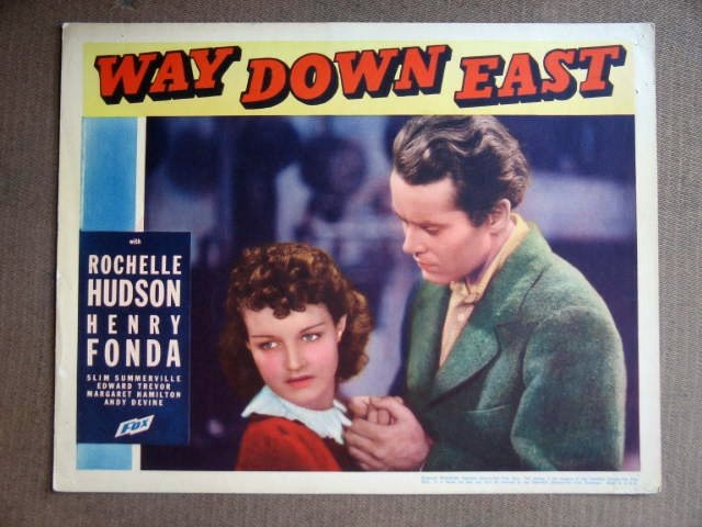 EC48 Way Down East HENRY FONDA Portrait Lobby Card