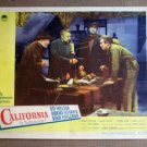 ED07 California RAY MILLAND/BARRY FITZGERALD Lobby Card