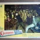 ED08 California RAY MILLAND/BARRY FITZGERALD Lobby Card