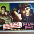 ED23 Long Night HENRY FONDA 1947 Portrait Lobby Card