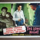 ED24 Long Night HENRY FONDA with gun in hand Lobby Card