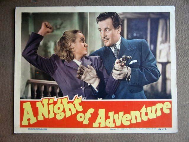 ED34 Night Of Adventure TOM CONWAY Portrait Lobby Card
