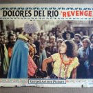 ED37 Revenge DOLORES DEL RIO 1928 Portrait Lobby Card
