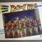ED39 Riding High DOROTHY LAMOUR/DICK POWELL Lobby Card