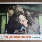 EE07 Last Time I Saw Paris ELIZABETH TAYLOR Lobby Card