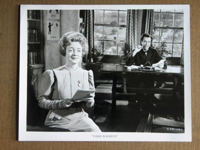 EE20 Corn Is Green BETTE DAVIS/JOHN DALL Studio Still
