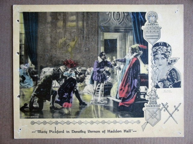 EF08 Dorothy Vernon Haddon MARY PICKFORD '24 Lobby Card