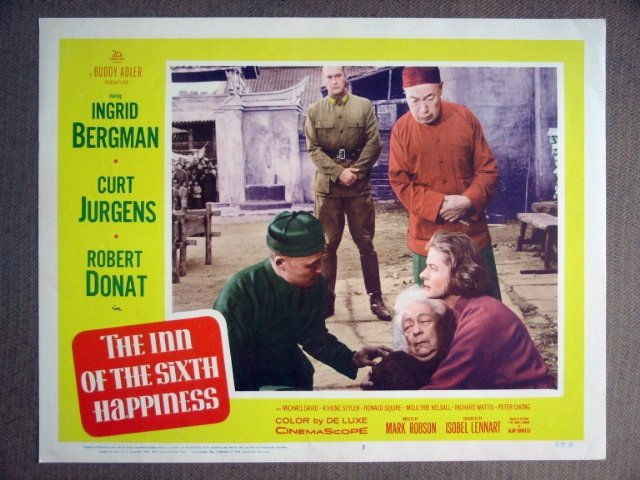 EF20 Inn Of 6th Happiness INGRID BERGMAN '59 Lobby Card