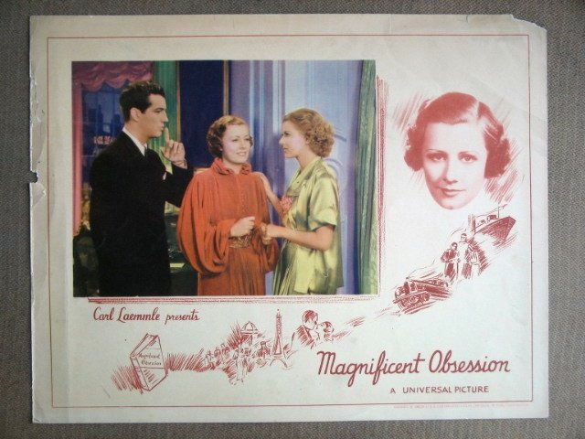 EF27 Magnificent Obsession ROBERT TAYLOR '35 Lobby Card