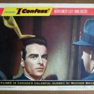 EG18 I Confess MONTGOMERY CLIFT/HITCHCOCK Lobby Card