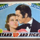 EH44 Stand Up & Fight ROBERT TAYLOR Portrait Lobby Card