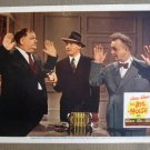 EI07 Big Noise STAN LAUREL/OLIVER HARDY Lobby Card