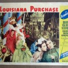 EI16 Louisiana Purchase BOB HOPE/VERA ZORINA Lobby Card