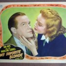 EI18 My Favorite Blonde BOB HOPE  Portrait Lobby Card