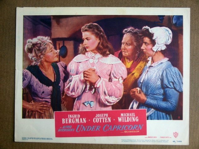 EI46 Under Capricorn INGRID BERGMAN Portrait Lobby Card