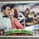 EI48 Wings Over Honolulu RAY MILLAND 1937 Lobby Card