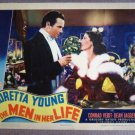 EJ32 Men In Her Life LORETTA YOUNG 1941 Lobby Card