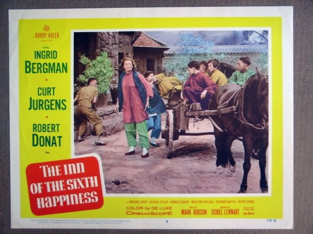 EK19 Inn Of 6th Happiness INGRID BERGMAN Lobby Card