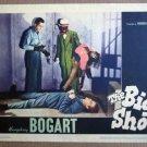 EL06 Big Shot HUMPHREY BOGART Original 1942 Lobby Card