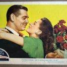 EL25 Hucksters CLARK GABLE/DEBORAH KERR 1947 Lobby Card