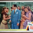 EM41 Thin Man Comes Home WILLIAM POWELL 1944 Lobby Card
