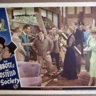 EN09 In Society BUD ABBOTT/LOU COSTELLO 1944 Lobby Card