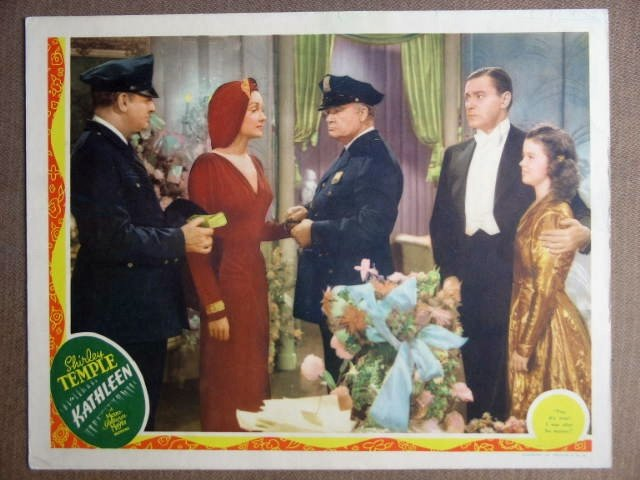 EN27 Kathleen SHIRLEY TEMPLE/MARSHALL 1941 Lobby Card
