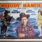 EO27 Melody Ranch G AUTRY/ANN MILLER TITLE Lobby Card