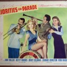EO40 Priorities On Parade ANN MILLER/COLONNA Lobby Card