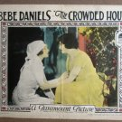 EP13 Crowded Hour BEBE DANIELS Original 1925 Lobby Card