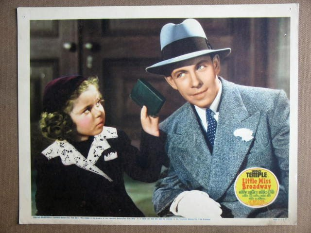 EP26 Little Miss Broadway SHIRLEY TEMPLE '38 Lobby Card