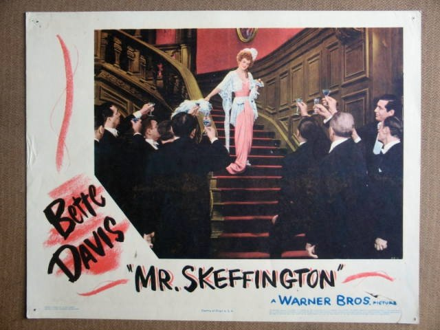 EP29 Mr Skeffington BETTE DAVIS Original '44 Lobby Card