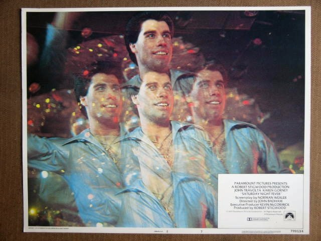 EP40 Saturday Night Fever JOHN TRAVOLTA Lobby Card